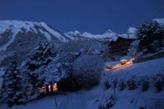 Chalet - Hiver nuit